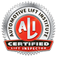 Automotive Lift Institute Certified