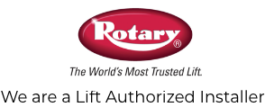 Contact PR Streich and Sons in Franklin Park, IL - Vehicle Lifts - image-content-logo-rotary